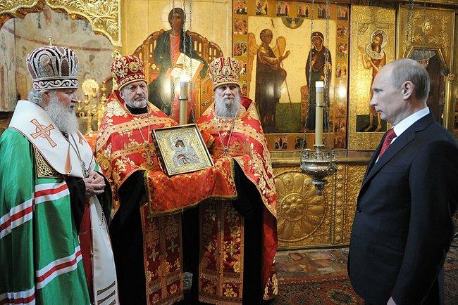 Putin kristen